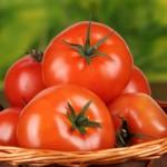 cos cu tomate