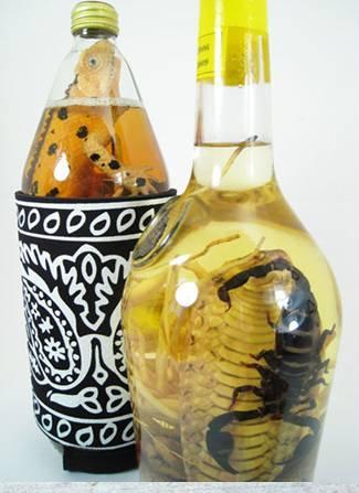 Scorpioni si serpi in vin de orez